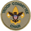 Troop Committee Chair Patch
